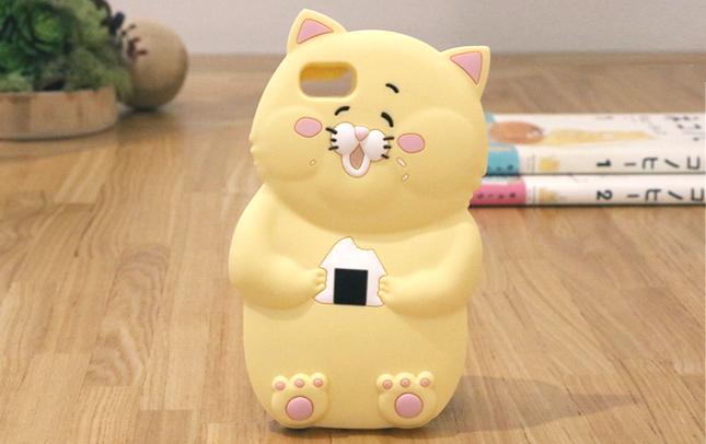ネコノヒーシリコンiPhoneケース