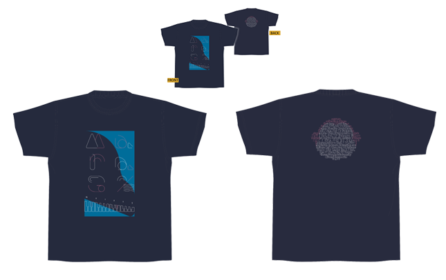【まらしぃ】 2019 Live Tour Tシャツ
