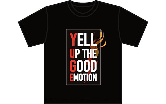 湯毛のオリジナルTシャツ(YUGE Tシャツver.0)