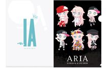 A4クリアファイル(ARIA ver)デフォルメ