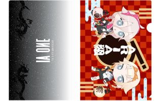 A4クリアファイル(IA 7th & ONE 4th Anniversary)デフォルメ