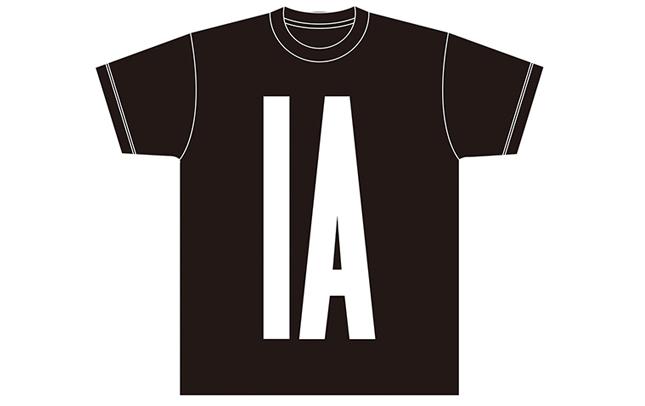 IA BIG LOGO TEE (Black)