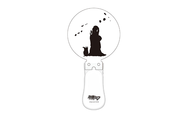【月光円舞花模様】初音ミク サイリウム(成形ヘッド付き)