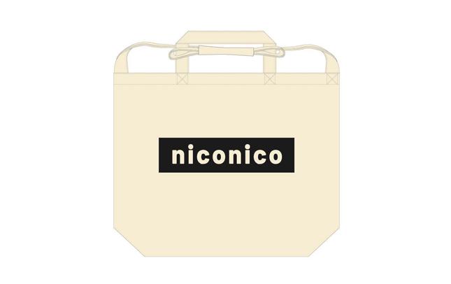 【niconico】ショルダートートバッグ