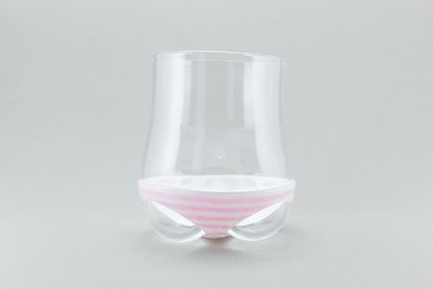 【ドワンゴジェイピーストア限定色】パンティグラス ボーダー(ピンク)