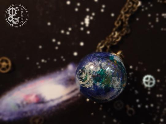 地球標本 ネックレス