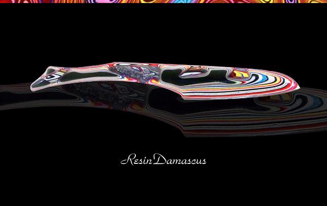 レジンダマスカス ナイフ03