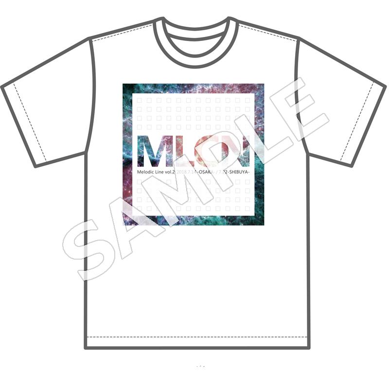 【めろちん】オリジナルTシャツ - 【めろちん】オリジナルTシャツ_白