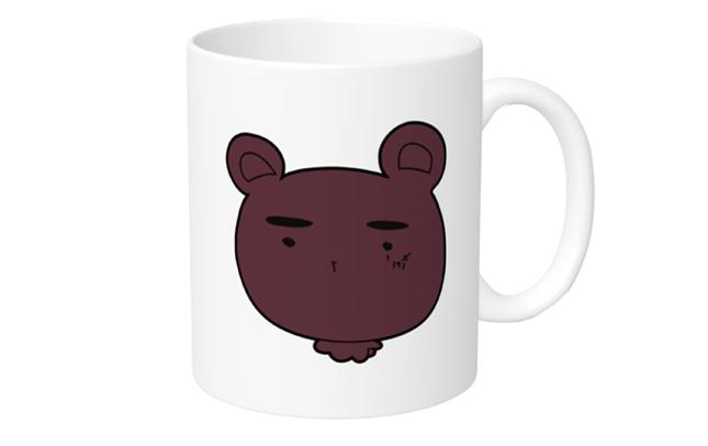 「おりみさんち。」マグカップ くまおじ