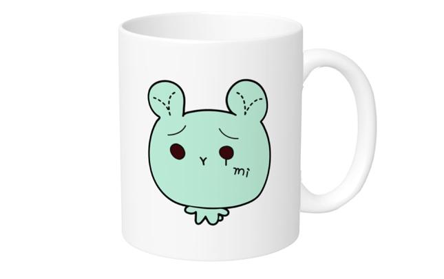 「おりみさんち。」マグカップ おりみんくま