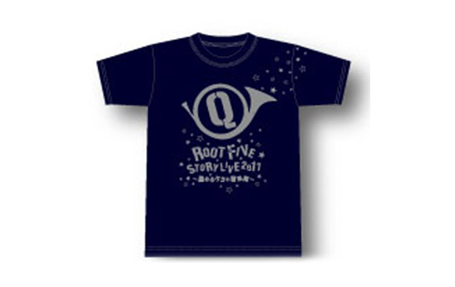 【ROOT FIVE】「Q」ツアーTシャツ - Mサイズ