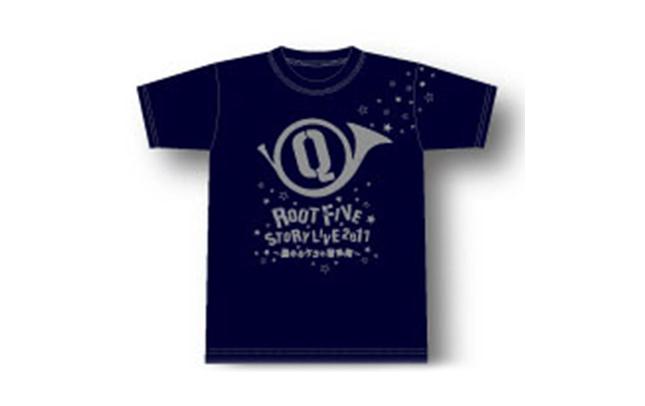 【ROOT FIVE】「Q」ツアーTシャツ - Lサイズ