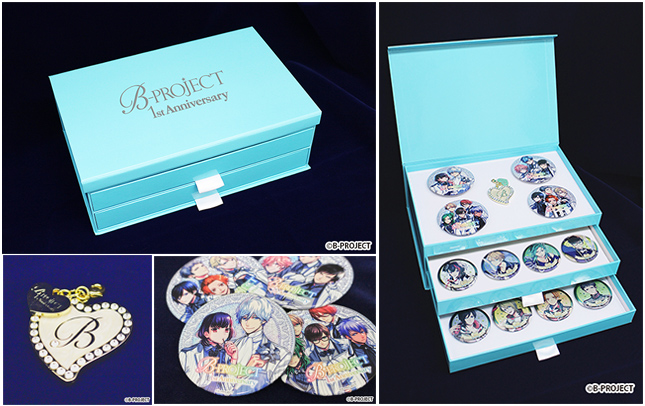 B-PROJECT 1st Anniversary Special 缶バッジセット