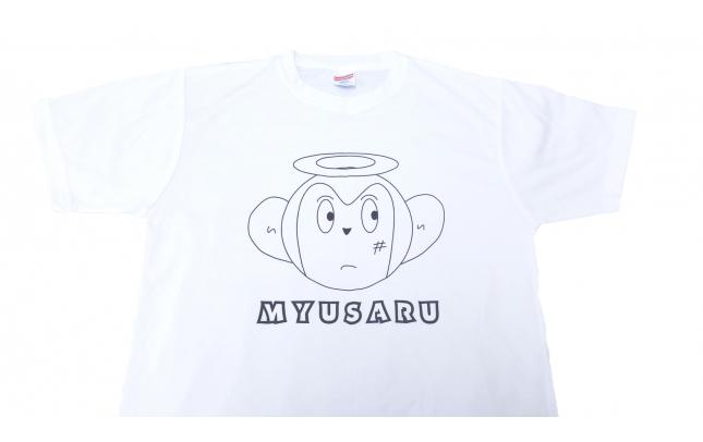 【みゅさん】みゅさるTシャツ